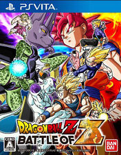 Dragon Ball Z Battle of Z Sony PSV PlayStation Vita Used Game Bandai Japan
