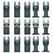 15 x Mix Blades for New Worx Sonicrafter Hyperlock WU675-6 New Erbauer Multitool