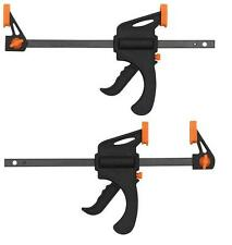 """Quick Grip Bar Clamps 4"""" 100mm Two Pack Craft Warhammer Scenery & Terrain"""