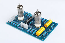 HIGH FIDELITY LOW NOISE STEREO 12AU7 +12AX7 TUBE PREAMPLIFIER KIT