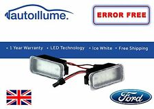 Ford Fiesta Mk7 18 SMD LED Number Plate Light Units
