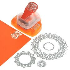 Tonic Studios: Butterfly Circle Doily Intrica Die And Butterfly Border Punch Set