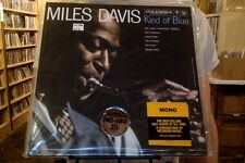 Miles Davis Kind of Blue LP sealed 180 gm vinyl mono RE reissue