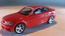 * Herpa Car 023870 BMW 1 ™ Coupé Standard Red 1:87 Scale HO