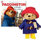 "Paddington Bear Movie Teddy Bear 10"" with Yellow Boots with Book"