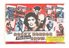 Rocky Horror Picture Show FRIDGE MAGNET (2 x 3 inches) quad movie poster
