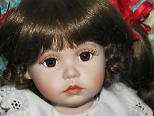 Apple Dumpling Porcelain Doll Ann Timmerman Gerogetown Collection Toy