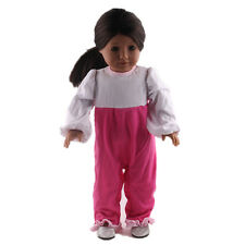 Children Christmas gift clothes set for 18inch American girl doll party N117