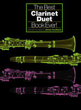 The Best Clarinet Duet Book Ever Learn to Play Folk Pop Spiritual Music Book