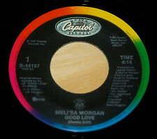 Meli'sa Morgan 45 Good Love / Here Comes The Night