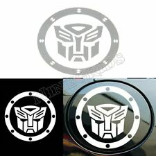 Transformer Fuel Tank Cap Reflective Car Auto Sticker Decoration Emblem  Decal