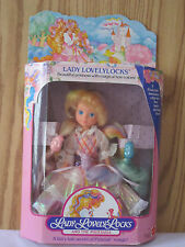 NIB LADY LOVELYLOCKS LOVELY LOCKS DOLL MATTEL 1986