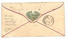 AK41 1864 GB *HAPPY NEW YEAR* V.Early Greetings Envelope Cambridge Cover London