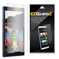 1X EZguardz Screen Protector Shield 1X For Lenovo Tab3 8 Tablet