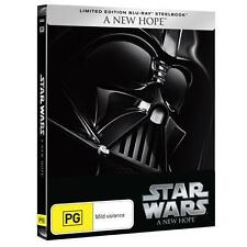 Star Wars: Episode IV - A New Hope(Steelbook(B/R)(Region B)Aussie Release
