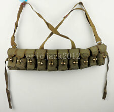 Surplus Vietnam Era SKS Chest Rig Field Gear SKS Bandoliers Pouch Webbing-D954