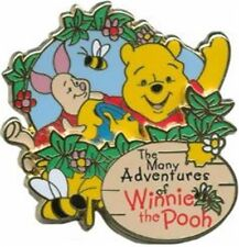 Disney Park Collection- The Many Adventures of Winnie the Pooh- Pin- DLR*NEW*
