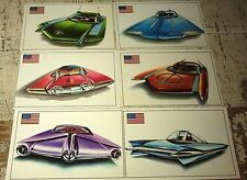 FUTURE CONCEPT CARS - Famous Cars by Top Sellers Ltd UK Trade Cards RARE