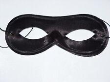 Black Domino Shape Eye Mask, Mardis Gras,Super Hero Eye Masks Bandit Robber