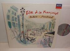 421 427-1 Chabrier Dukas Saint-Saens Ibert Fete A La Francaise Montreal Dutoit