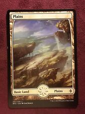 Battle for Zendikar Full Art Land  Plains #251  VO  -  MTG Magic (Mint/NM)