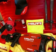 HILTI TE 1500-AVR BREAKER,MADE IN GERMANY/ HILTI CHISELS & FREE EXTRAS,FAST SHIP