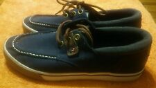 Tommy Hilfiger Tmraider Mens Sneakers/Shoes (Blue) Size 9 Pre Owned