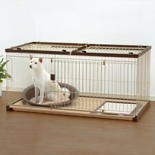 Richell USA EASY-CLEAN PET CRATE LARGE (DARK BROWN) - 94923 Pet Crate NEW