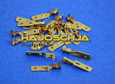 20 Pezzi Connettore faston maschio con Linguetta di bloccaggio non isolato 6,3mm