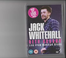 JACK WHITEHALL GETS AROUND LIVE FROM WEMBLEY ARENA DVD STAND UP COMEDY