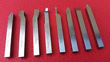 8pc HSS Lathe Turning Tool Set Form Tools 8mm Shank For mini emco lathes