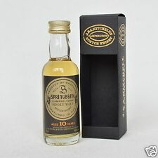 SPRINGBANK 10 Years Old Single Malt Whisky 46% 50ml Mini