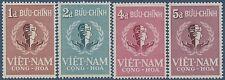 VIETNAM du SUD N°94/97** ONU, 1958 South Viet Nam UN Sc#88-91MNH