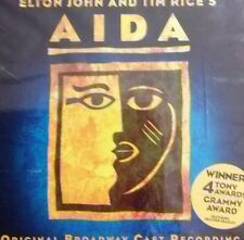 Elton John and Tim Rice's Aida. Original Broadway Cast Recording in Music CD