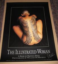 Tattoo Poster The Illustrated Woman Signed 1991 Bob Roberts