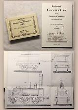 De Berlin ferroviaires et télégraphes-ABC + stephanon's locomotive - 2x reprint xz
