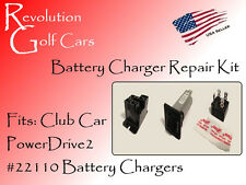 Battery Charger Repair Kit, Fits: Club Car 48 Volt (PowerDrive2 #22110)