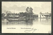 Bandjermasin KPM Ship Harbour Borneo Indonesia ca 1906