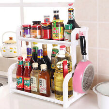 Foldable Storage Shelf Rack Kitchen Bathroom Holder Organizer Desk Bookshelf