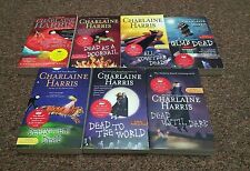 CHARLAINE HARRIS 7 bks SERIES: SOOKIE STACKHOUSE, CLUB DEAD, ALL TOGETHER DEAD
