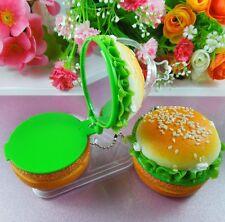 Cute Food Hamburger Shaped Compact Cosmetic Makeup Mirror USA SELLER! Fast Ship!