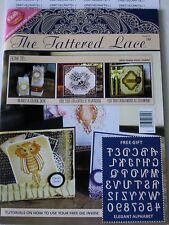 TATTERED LACE MAGAZINE #3 (INCLUDES A FREE DIE) BOOK FOR CARDS & SCRAPBOOK IDEAS