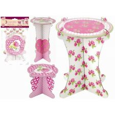 PACK OF 3 CUPCAKE STANDS birthday display stands wedding craft cake decorating