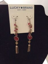 Lucky Brand Caseline Gem Linear Drop Earrings $35 #80