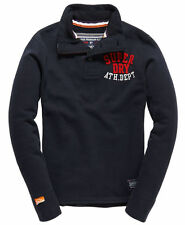 New Mens Superdry Top Si ze S/Challenger  Henley Eclipse/soft /jumper/sweater