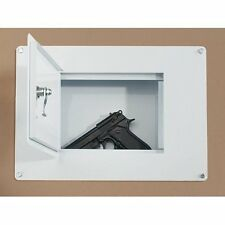 High Security Steel Wall / Floor Safe - Fits Between Studs - Money Handguns