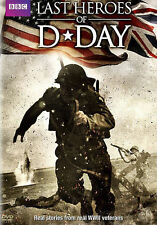 D-Day: The Last Heroes (DVD, 2014)