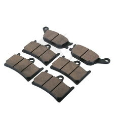 Front & Rear Disc Brake Pads For YAMAHA YZF 600 R6 FAZER 8 FZ8 ABS 2010-