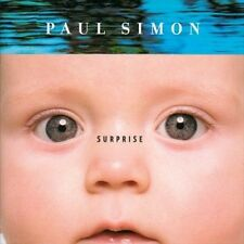 PAUL SIMON CD SURPRISE HERBIE HANCOCK BRIAN ENO STEVE GADD BILL FRISELL