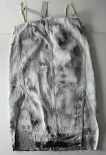 rick owens DENIM TIE-DYE DRESS it44 usa10 NEW $1100